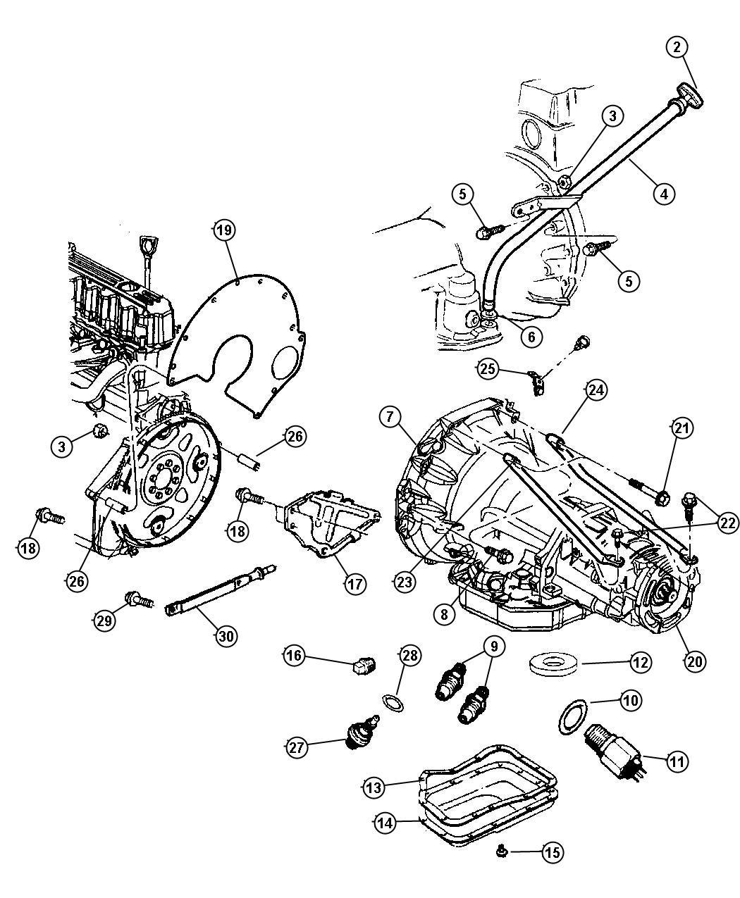Jeep Grand Cherokee Bracket  Battery Wiring  Tube  Vent Tube