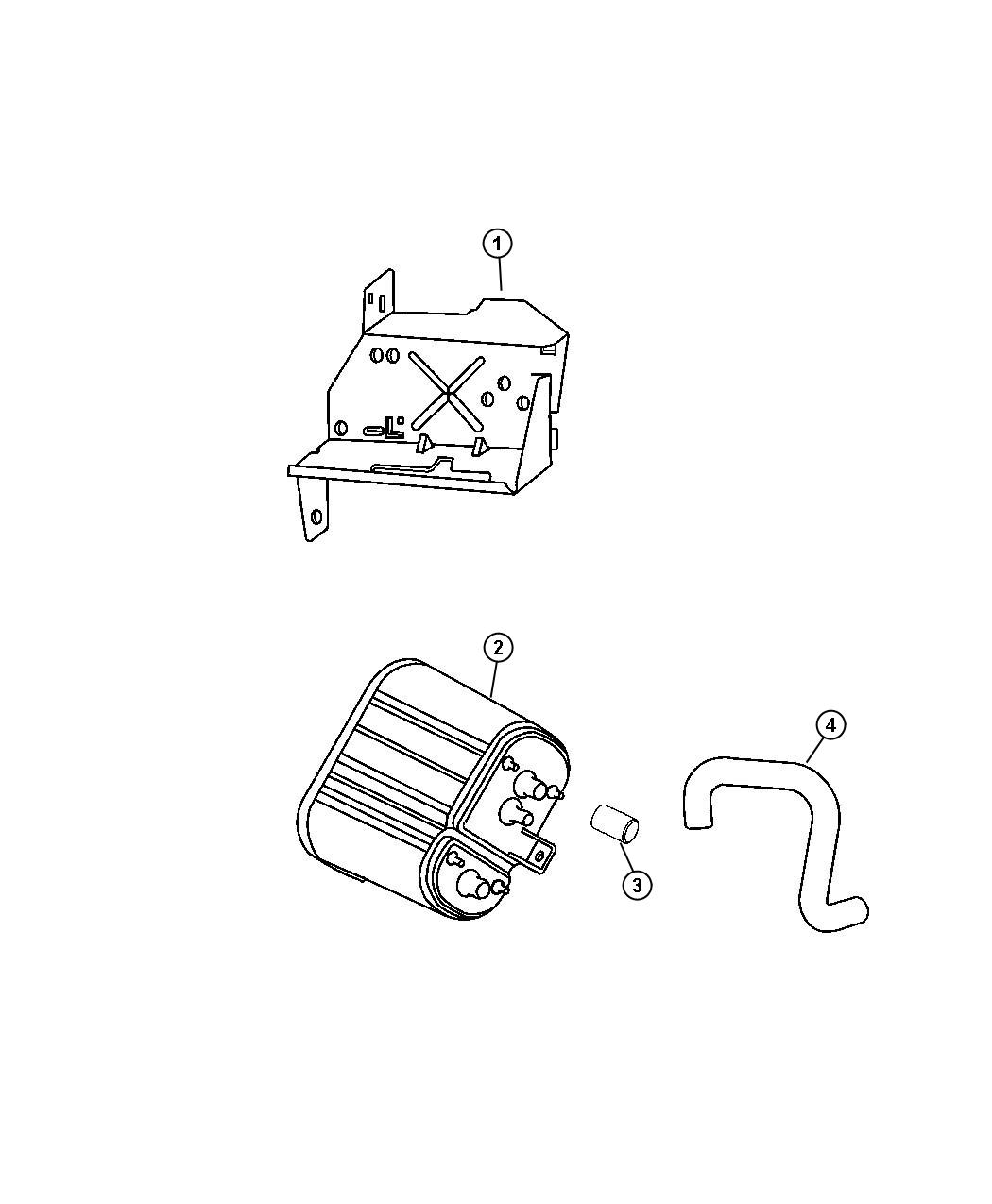 Jeep Wrangler Clip. Wiring. Liquid line attaching, with ...