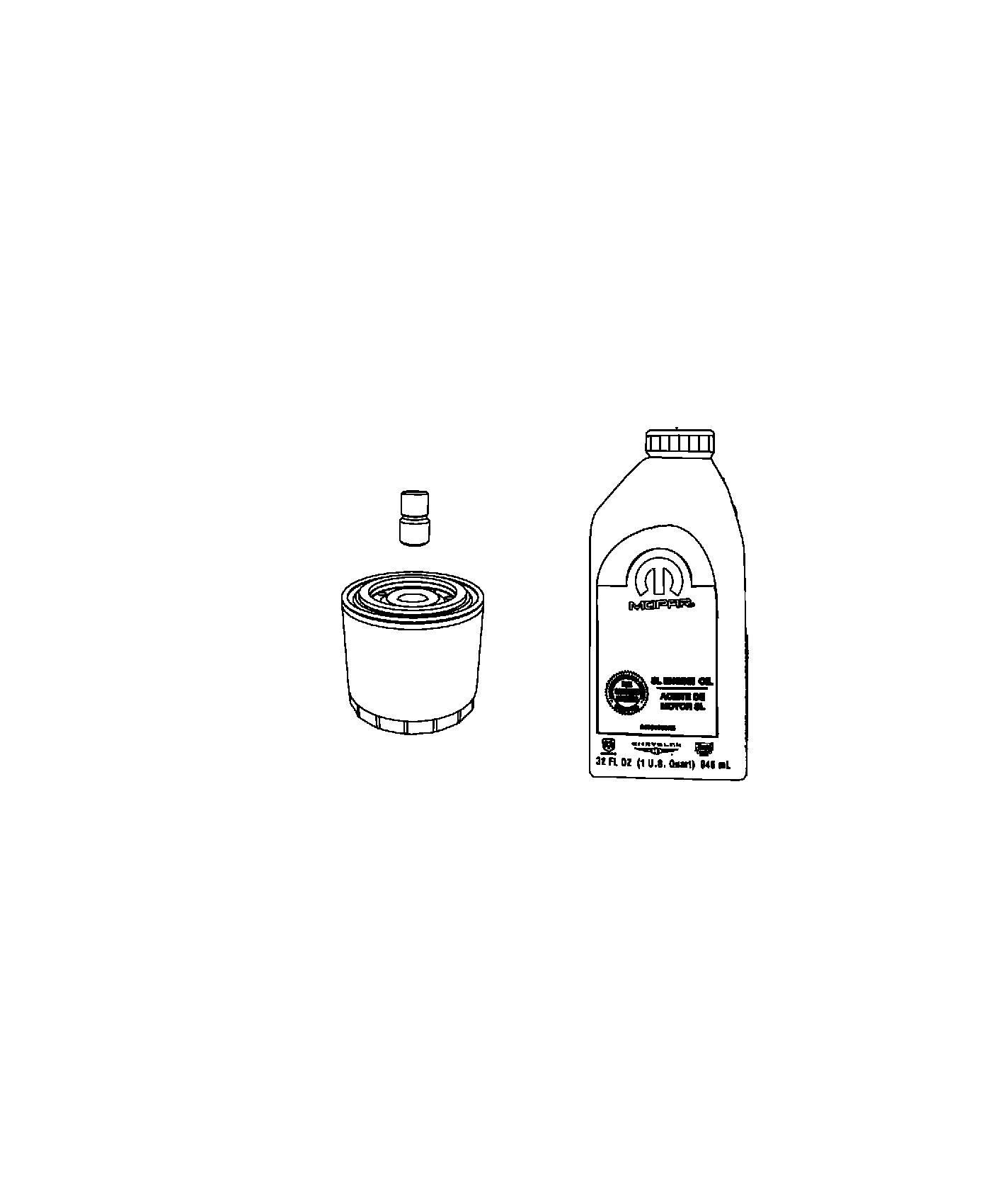 Ram 3500 Tray  Oil Drain  Engine  Adapter  Filter