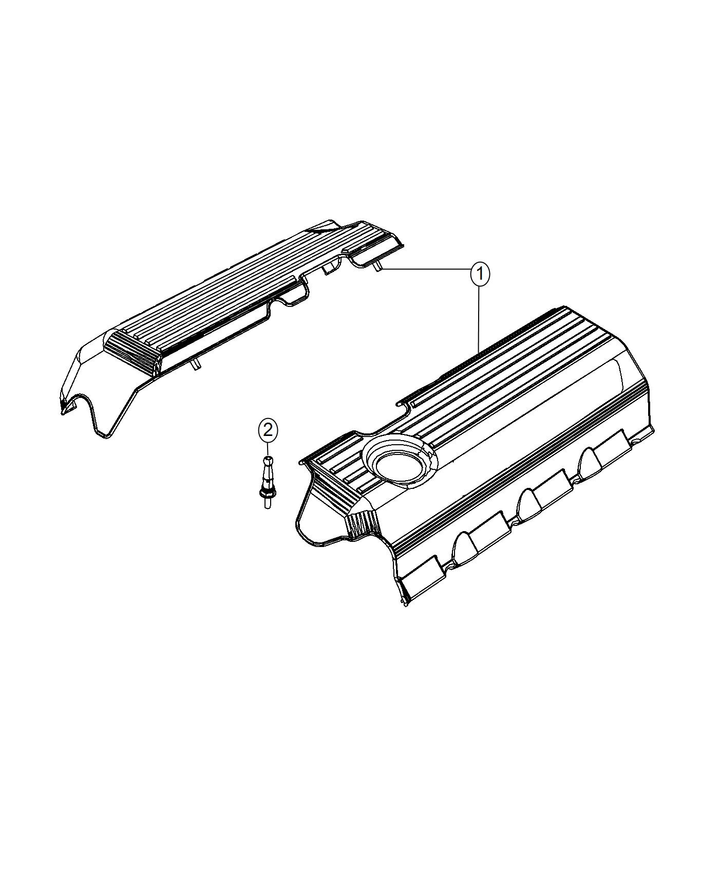 Chrysler 300 Cover  Wiring Protector  Left Side