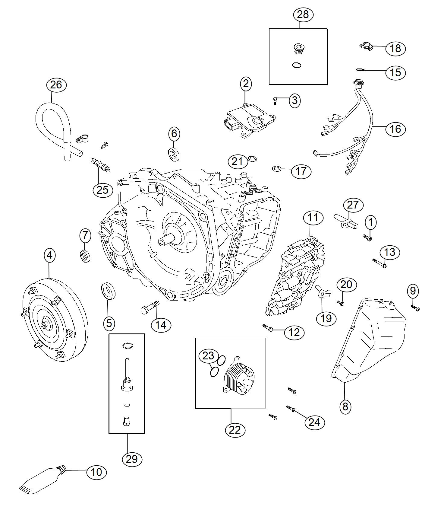 Jeep Compass Wiring  Transmission  Export   Stop