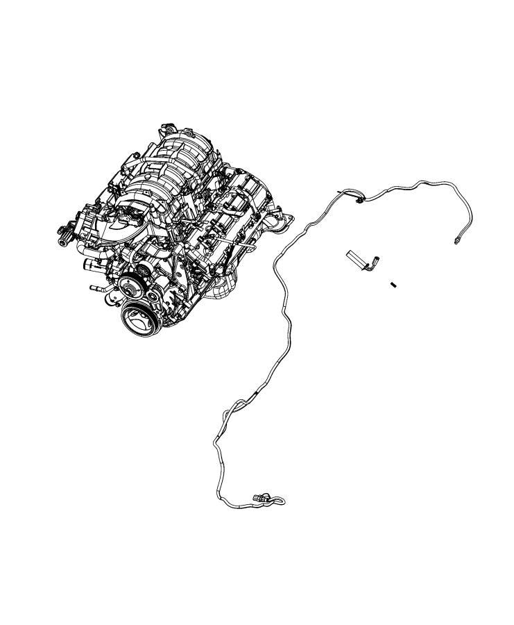 Ram 2500 Cord  Engine Block Heater   Engine Block Heater