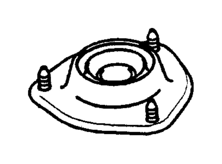 Dodge Stratus Nut  Front Suspension  M12 Self Locking