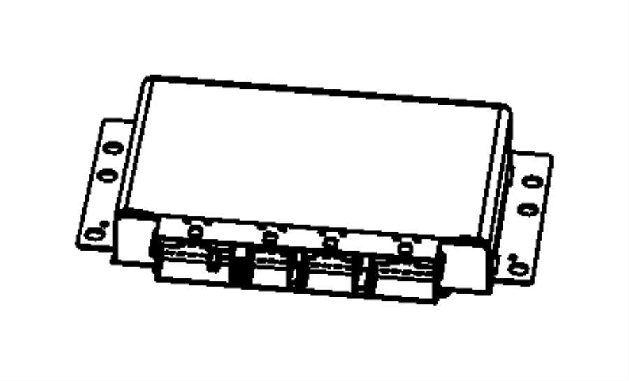 Jeep Grand Cherokee Module  Electronic Limited Slip