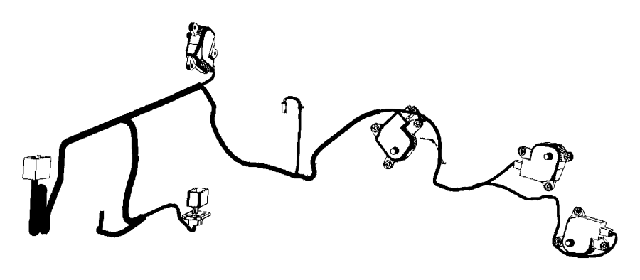Ram 1500 Wiring  Used For  A  C And Heater   Air Cond Atc W
