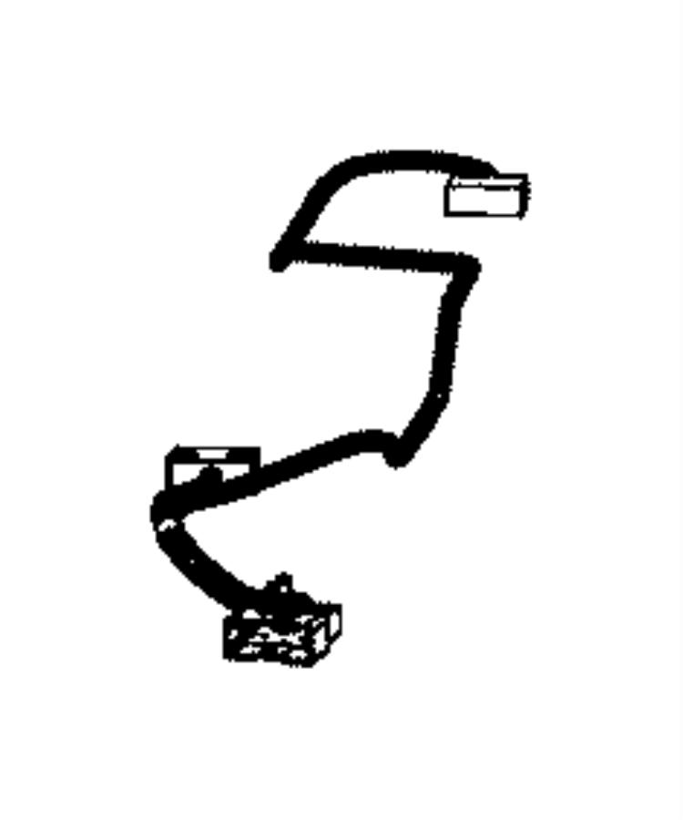 Chrysler 200 Wiring. Sunroof. Trim: [no Description