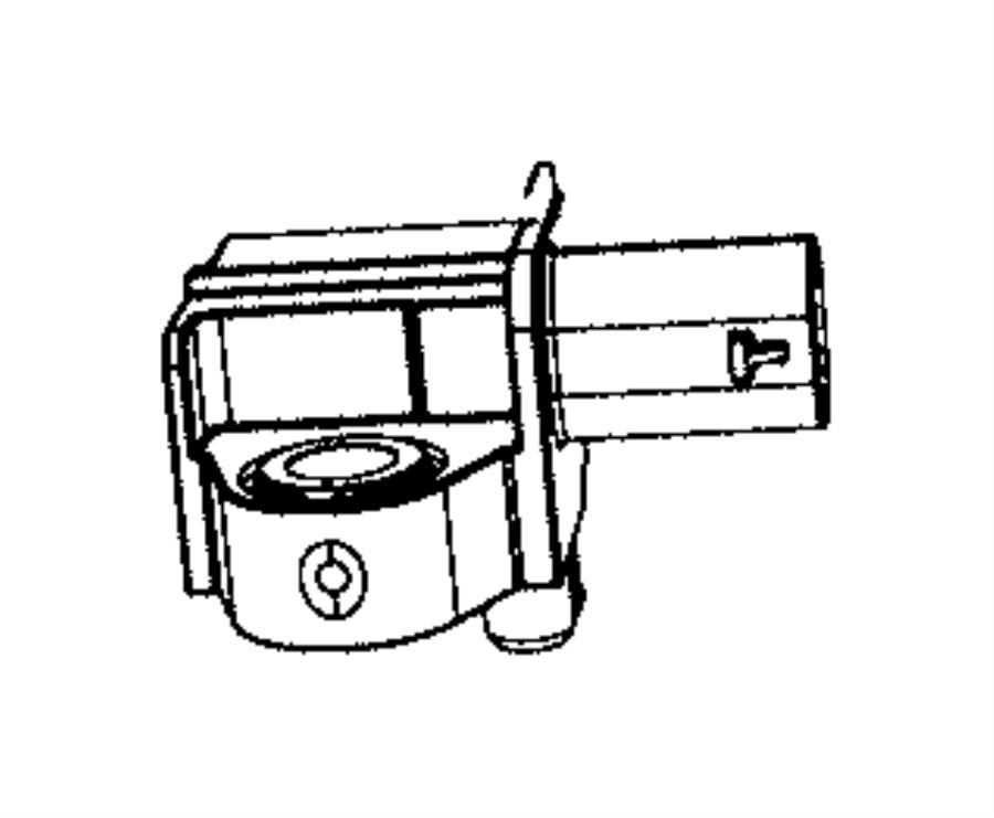 Jeep Compass Sensor. Acceleration. Front - 68245081AB ...